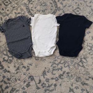 Other - Baby Gap 3 pack of onesies